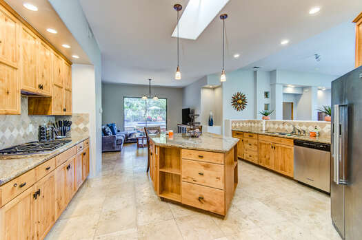 Massive Kitchen with a Center Island