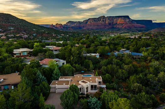 Wonderful Home Situated Amongst Mature Trees and The Stunning Sedona Scenery