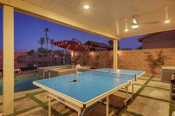 Outdoor Ping Pong anyone?