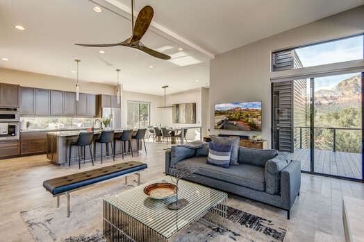 One Level Living (2nd Level) Split Floor Plan with an Expansive Great Room