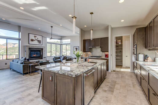 All New and Spacious Kitchen