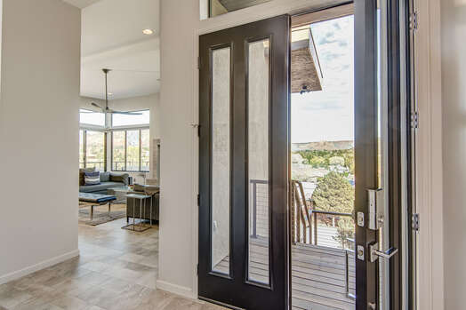 Front Door Entry into This Amazing New Home!