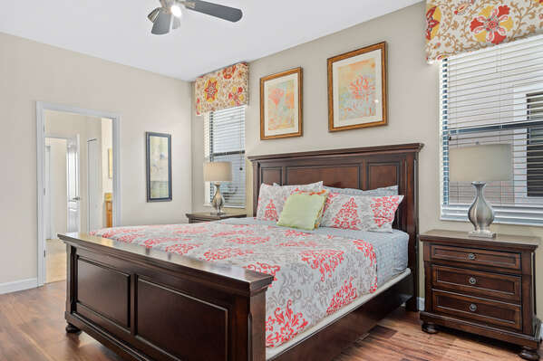 This king bed will be calling your name after a fun day of running around Orlando