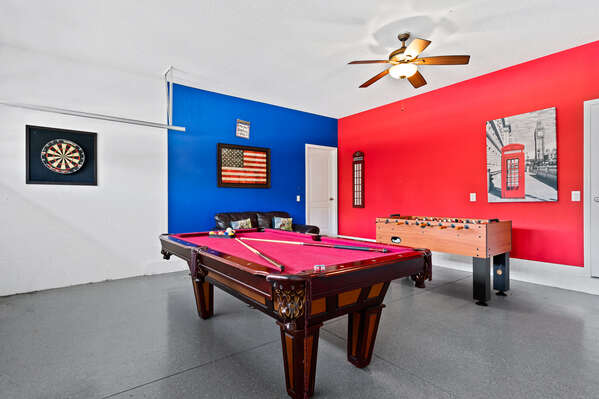Challenge someone to a round of pool