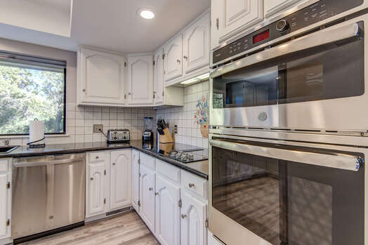 All New Stainless Steel Appliances Make Cooking Easy and Fun