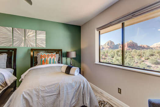 Large Window to Bring in the Natural Light and Red Rock Views