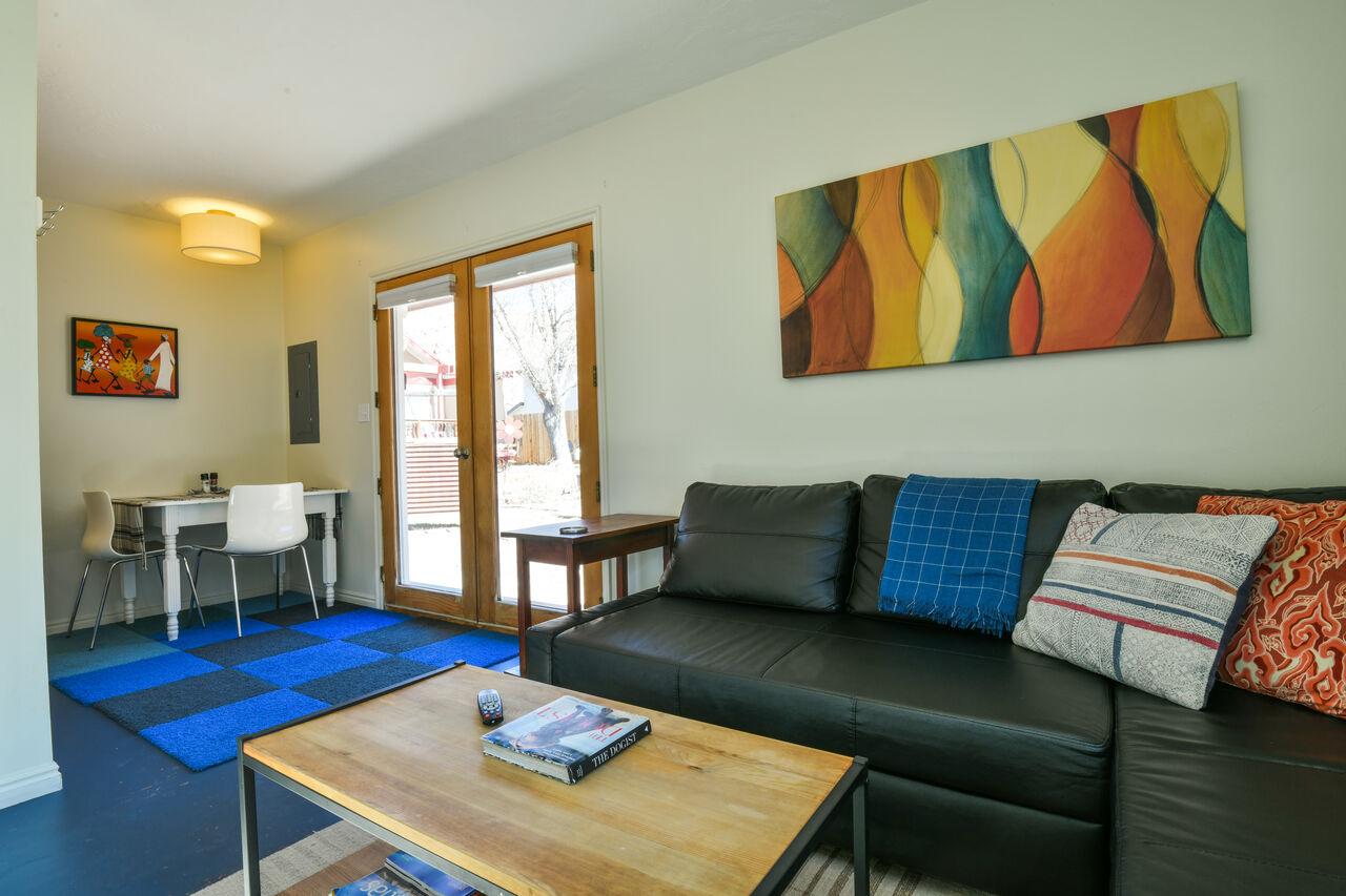 Living Room View of this Lovely Moab Utah Rental
