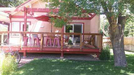 Exterior- Patio and Shared Yard