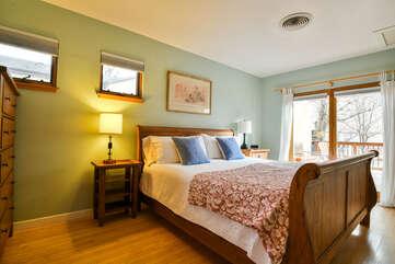 Cozy Single Bedroom of our Hazel Rental Cottage