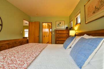Comfortable Bed and Single Bedroom Hazel Lodging in Moab Utah