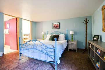 Violet Rental Cottage Bedroom