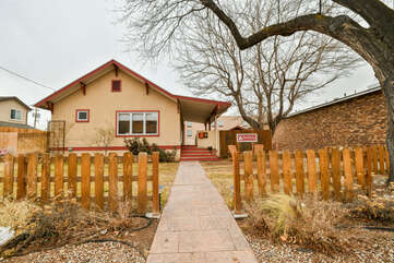 Exterior View of our StellaRuby Cottages Lodging in Moab Utah