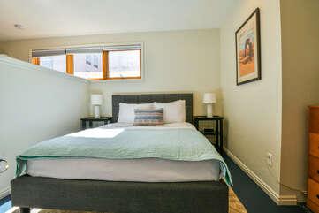 Comfy Bed in this Scarlet Rental Cottage