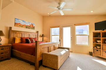 Large Master Bedroom Rim Village Lodging