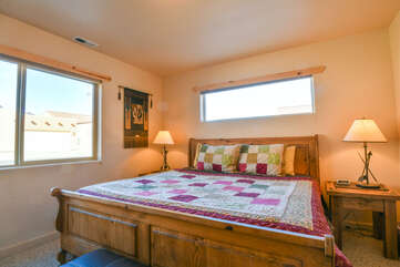 Second Bedroom in this Rim Village Rental