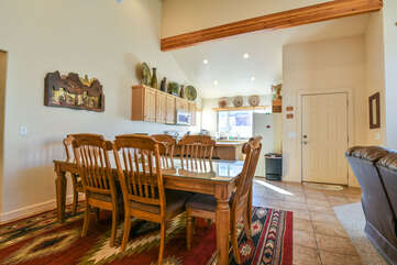 Open Floor Plan Dining Room in Rim Village
