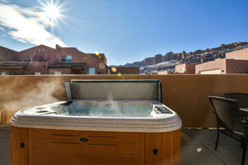 Private Hot Tub and Beautiful View of Rim Village