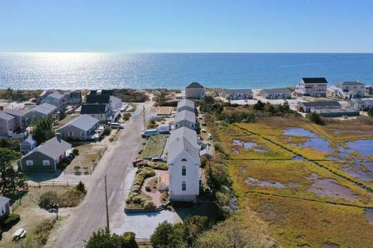 Outstanding views from this Reverse Nantucket style home.27 Fiddlers Green Lane-Dennis Port-New England Vacation Rentals