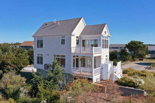 Outstanding views from this Reverse Nantucket style home.  27 Fiddlers Green Lane-Dennis Port-New England Vacation Rentals