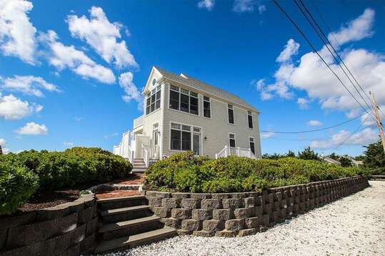 Welcome to Seaside Villa! Outstanding views from this Reverse Nantucket style home. 27 Fiddlers Green Lane-Dennis Port-New England Vacation Rentals