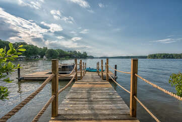 Enjoy your own private dock - one boat slip. Kayak and paddle board available for your use.