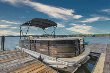 Please reach out to your Lakecation Consultant regarding pontoon rentals.