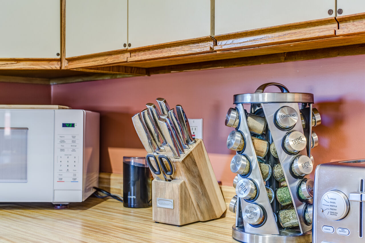 Fully Equipped with Everything Needed to Make your Homemade Meals