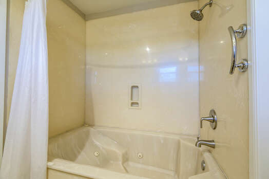 Master Bath with a Jetted Tub/Shower Combo