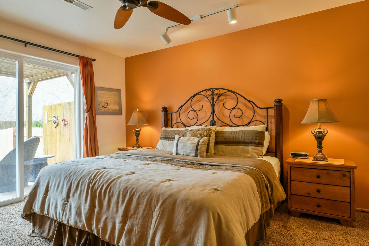 Lodging in Moab Utah Area Master Bedroom