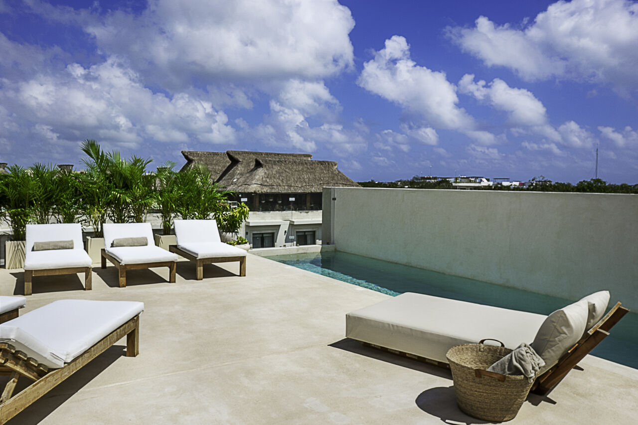 Apartment Calalily     Luxury 3BD Penthouse W  Private Rooftop Pool photo 28095316