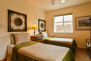 Third Bedroom With Window Lodging in Moab Utah Area