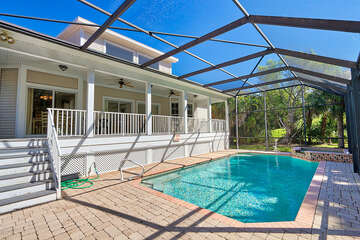 Exterior Pool and Back Porch
