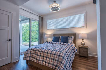 Guest bedroom (2) Queen Bed, Full attached bath, private porch with sliding glass door access.
