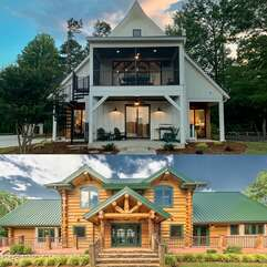 Day time at Azalea Retreat- the Lodge and the Cottage!