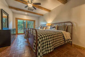 Lower level guest room - 2 queen size beds, with full bath attached.