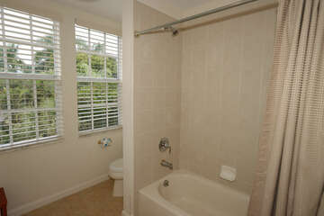 Upstairs Large Guest Bathroom