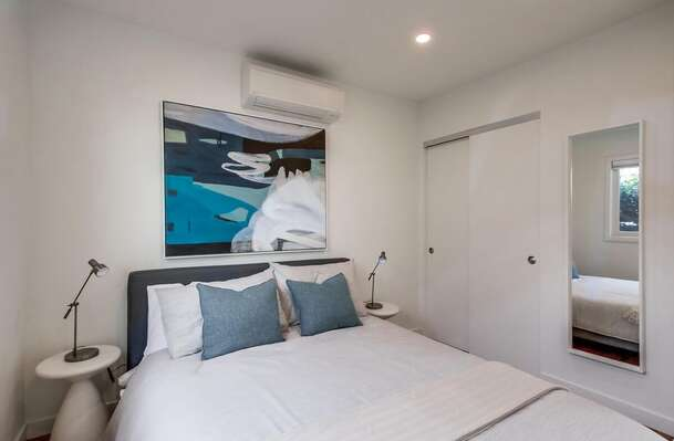 Both Bedrooms have A/C