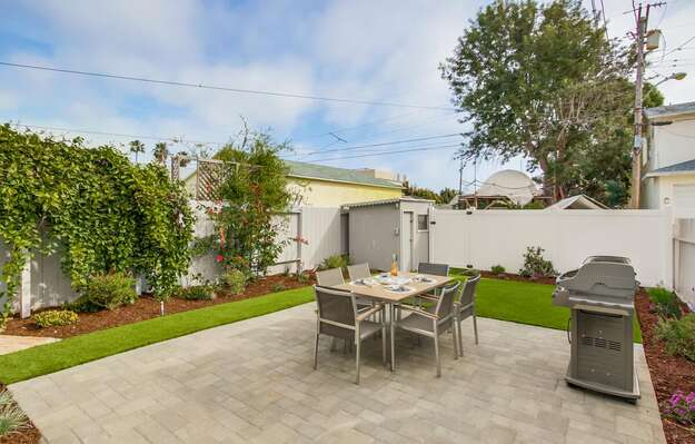 Beautiful Gardens and Pristine Landscaping in the backyard