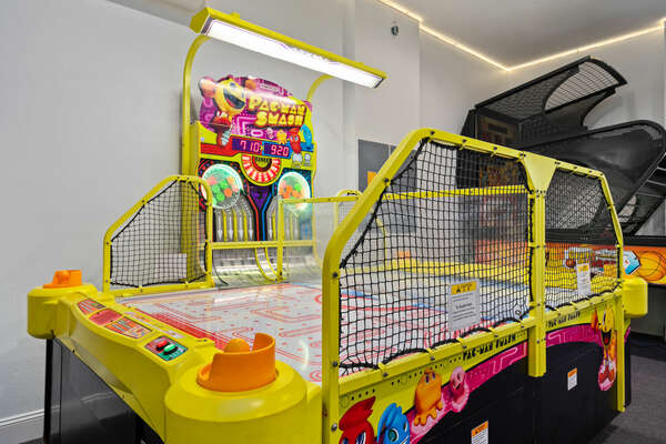 Endless fun in your own game room!