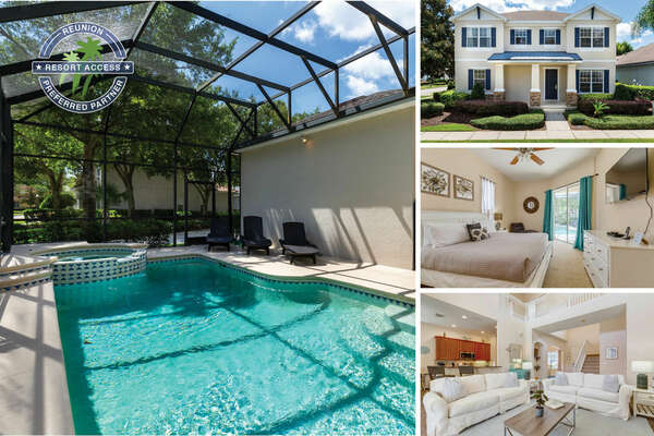 Welcome to Reunion Haven, a 5 bedroom villa with a private pool | PHOTOS TAKEN: July 2020