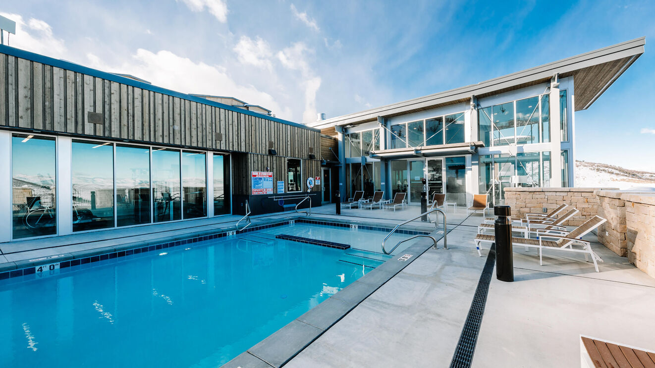 Outdoor Community Pool & Club House