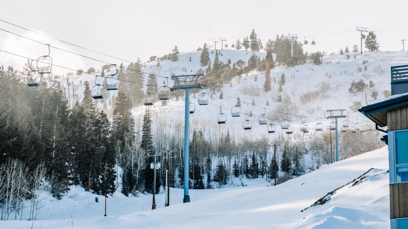 Sunrise Ski Lift