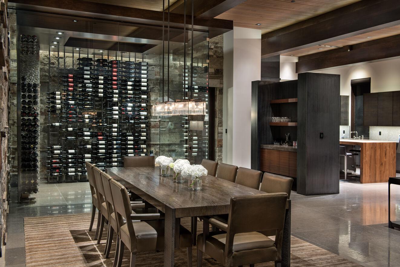 Dining Area & Wine Cellar