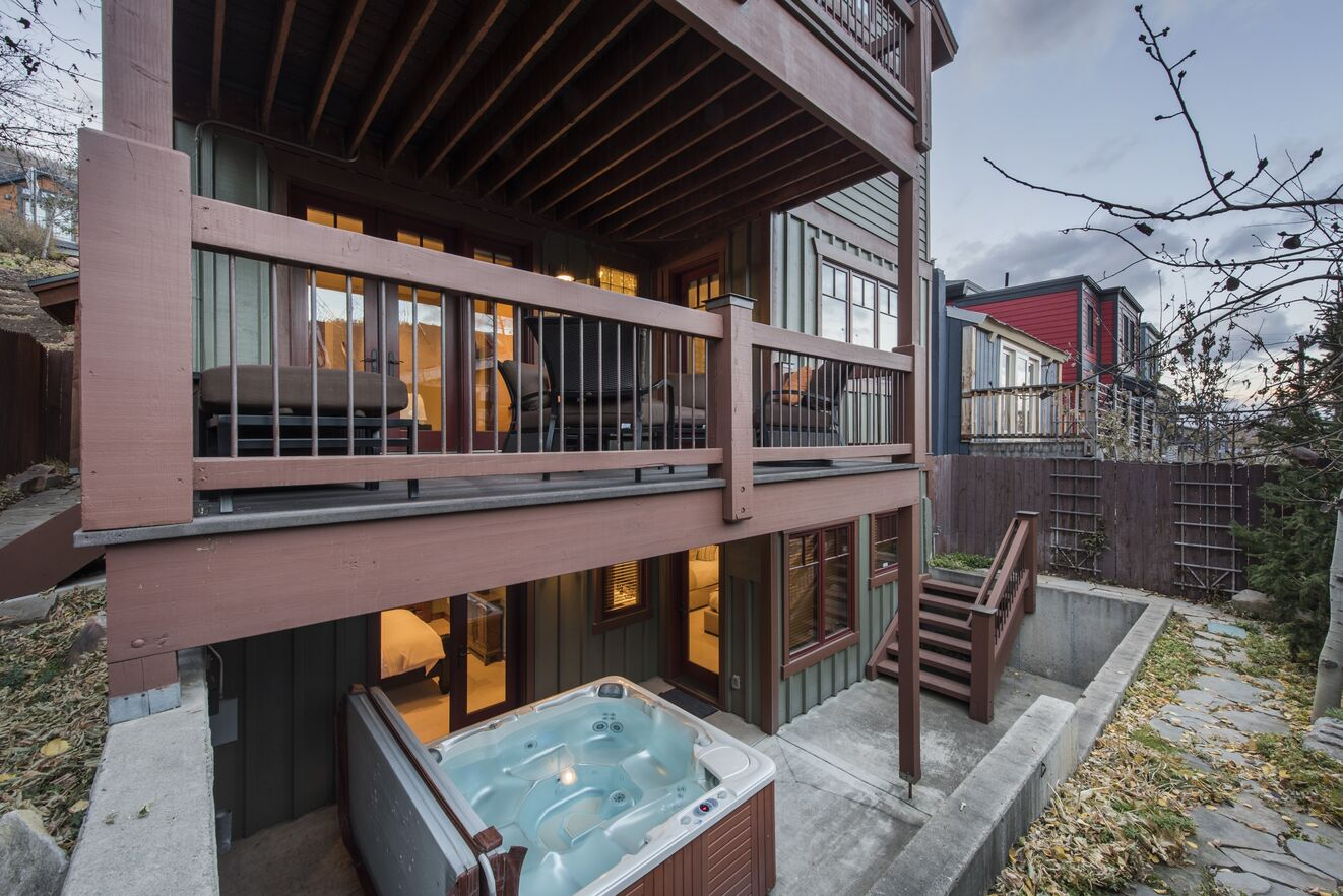 Two Deck Levels & Hot Tub Patio