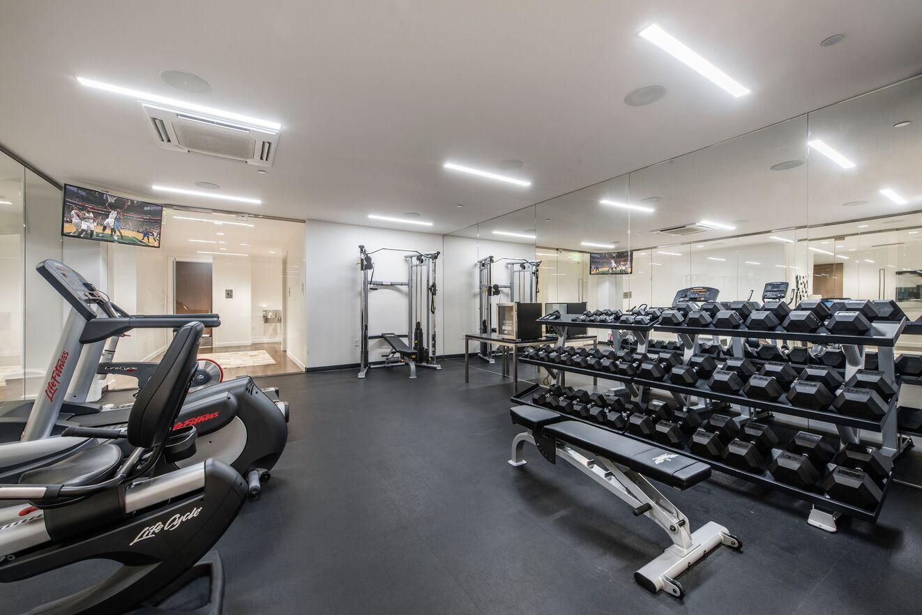 Parkite Fitness Room