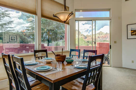 Enjoy the Abundance of Natural Light and Red Rock Views!