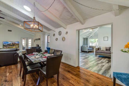Off the Dining Area is a Bonus Room