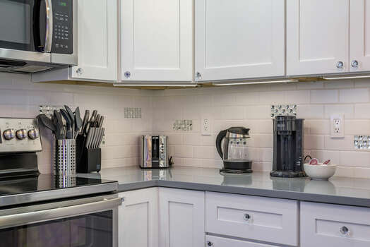 Fully Equipped Kitchen with All the Appliances and Utensils Needed for Your Homemade Meals
