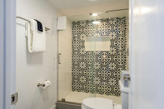 Gorgeous Tile and Glass Shower
