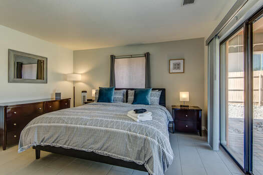 Master Bedroom with a King Bed, 50